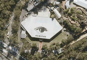 Big Brother house from air