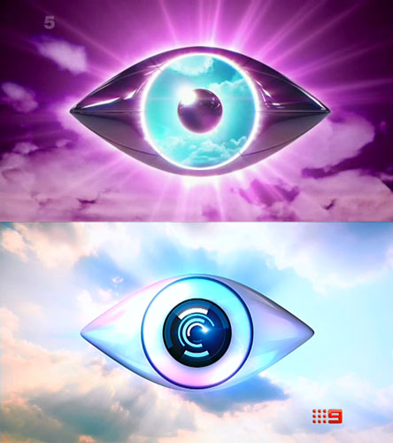 Big Brother UK and Australia eye comparison