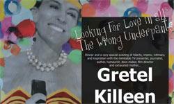 Gretel Killeen show poster