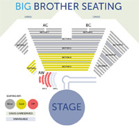 BB seating chart