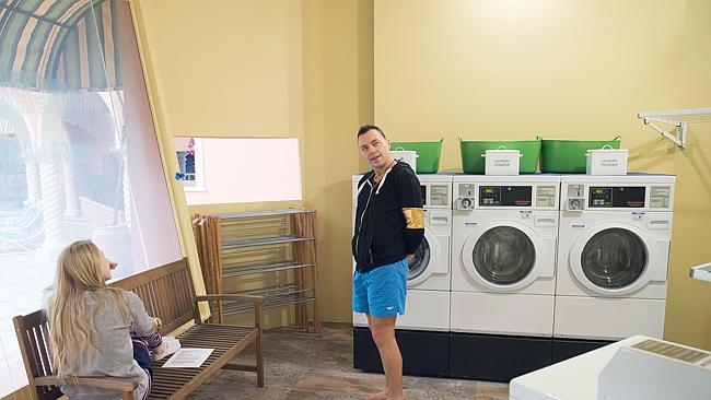 2014 House Laundry - Laundromat style