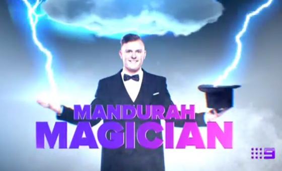 Lawson Reeves is the Mandurah Magician