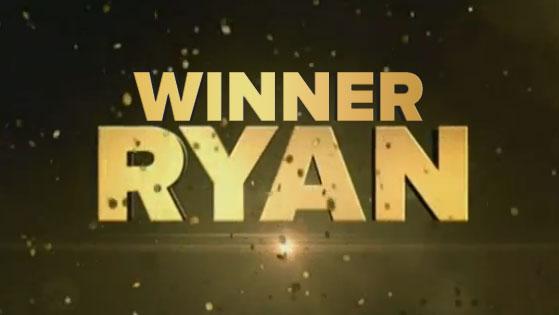 2014 Winner Ryan