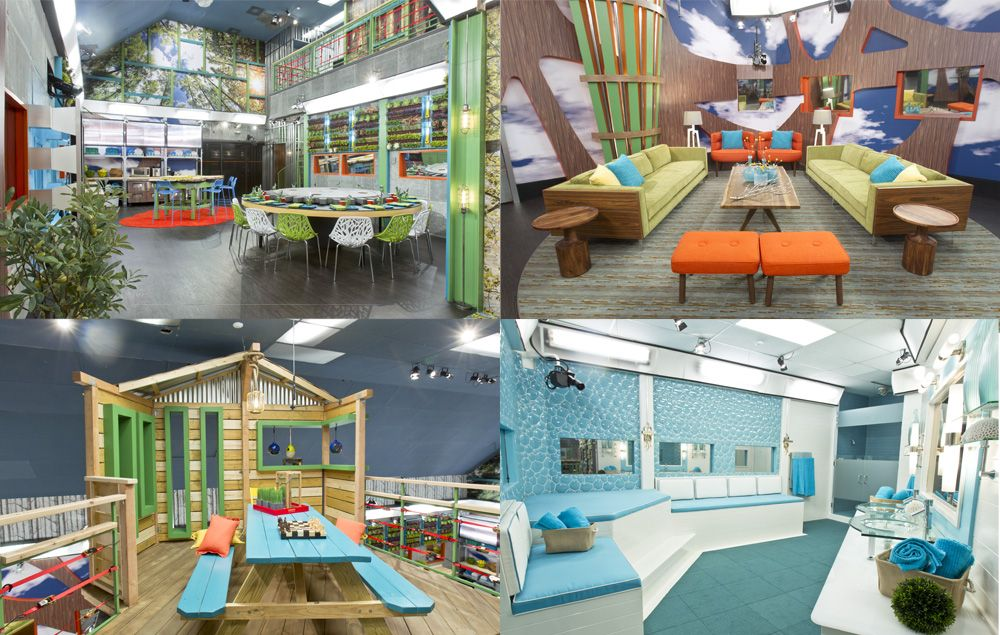 Big Brother USA sets